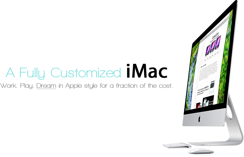 Purchase the ultimate iMac from iGeniusStore